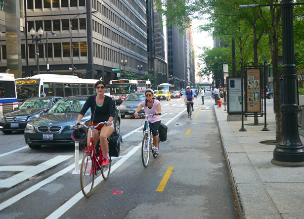 Bike Lane Chicago >> Bike Lanes - BicycleMobile.org - News, Issues, Advocacy Bicycling in Mobile, AL